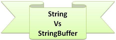 string buffer in java