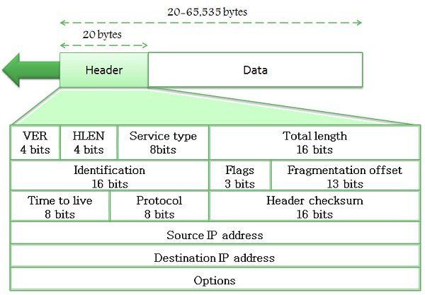 IPv4 datagram