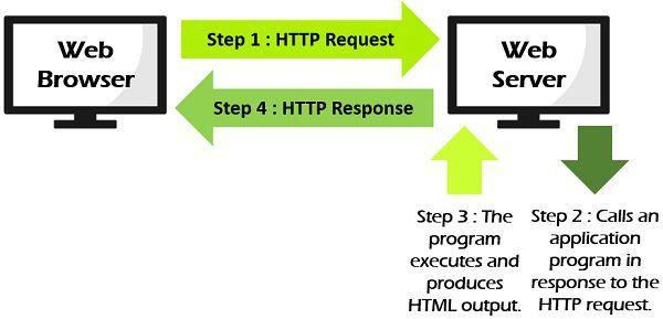 Dynamic web page process