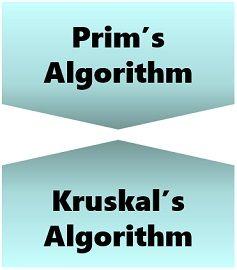 Prim's algorithm vs Kruskal's algorithm