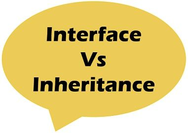 Interface vs Inheritance