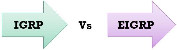 IGRP vs EIGRP