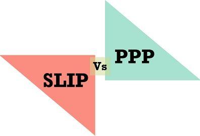 SLIP vs PPP