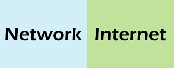 Network vs Internet