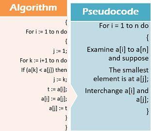 algorithm vs flowchart