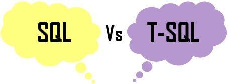SQL VS T-SQL
