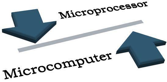 Microprocessor Vs microcomputer