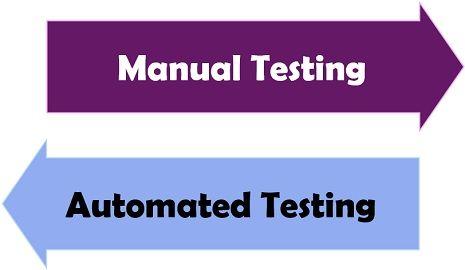 manual testing Vs automated testing