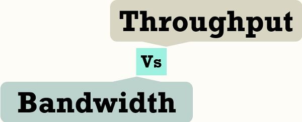 Bandwidth Vs Throughput
