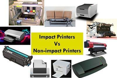Impact Vs Non-impact printers