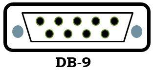 DB-9 port