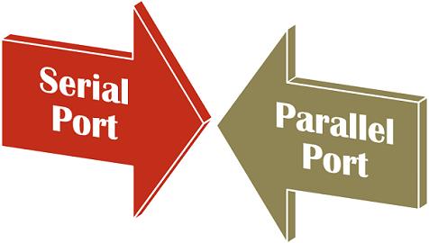 Serial Port Vs Parallel Port