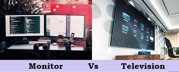 Monitor Vs Television